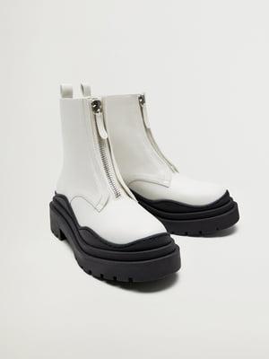 Ботинки белые | 5561403
