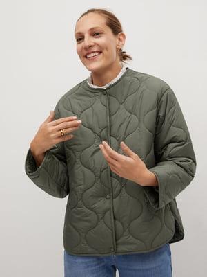Куртка зелена | 5561439