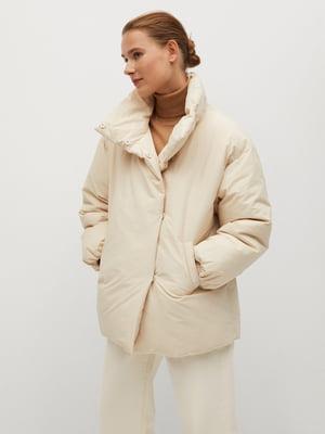 Куртка молочного кольору | 5561451