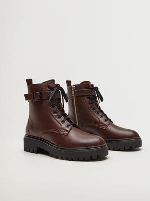 Ботинки бордовые | 5561454