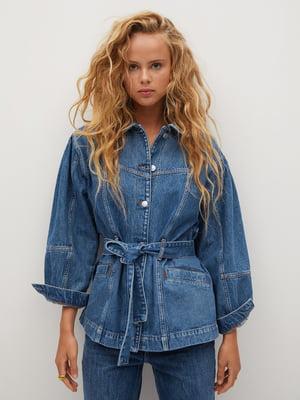 Куртка синя джинсова | 5561465