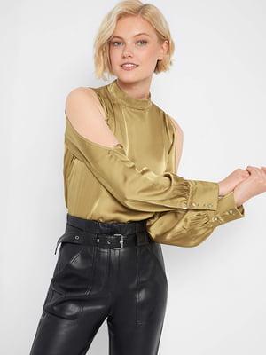 Блуза золотистого цвета | 5561514