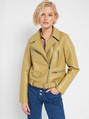 Куртка гірчичного кольору | 5561519