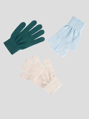 Комплект перчаток (3 пары) | 5561537