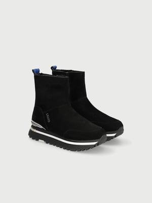 Ботинки спортивные черные   5561873