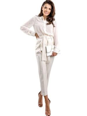 Сорочка біла з декором   5561894