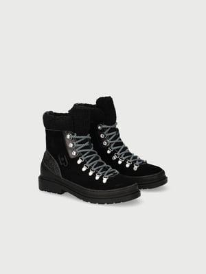 Ботинки черные   5561929