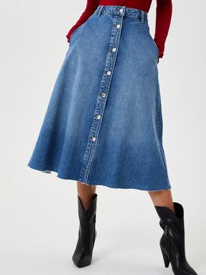 Спідниця синя джинсова | 5562000