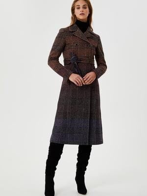 Пальто в «гусячу лапку» | 5562031