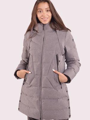 Куртка  серая | 5563357