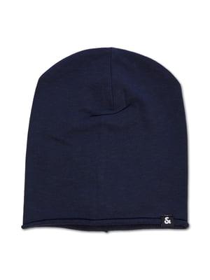 Шапка темно-синя | 5562041