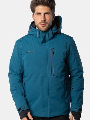Куртка цвета индиго | 5563334