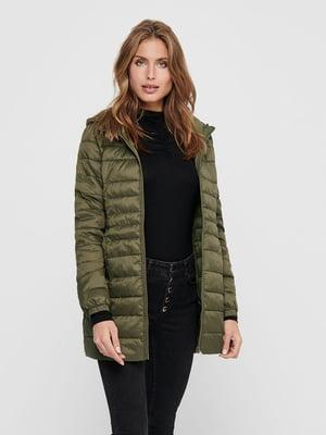 Куртка кольору хакі | 5562256