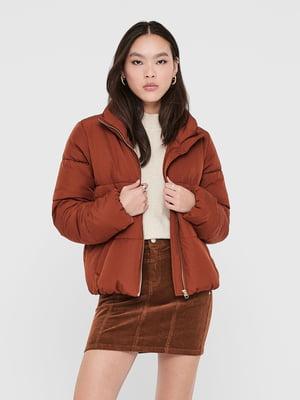 Куртка кирпичного цвета | 5562304