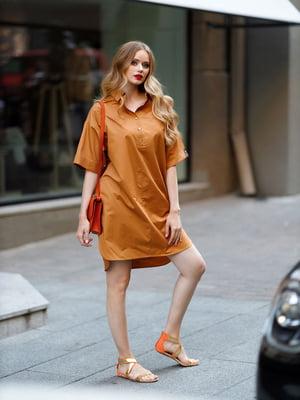 Сукня гірчичного кольору | 5563447