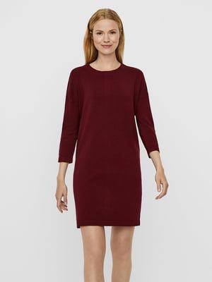 Платье бордовое | 5562397