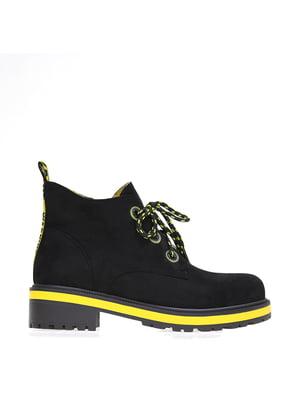 Ботинки черные   5563587
