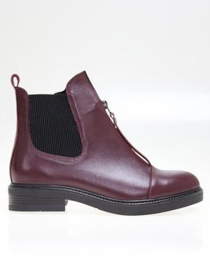 Ботинки бордовые   5563741