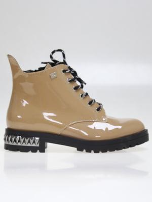 Ботинки бежевые | 5563742