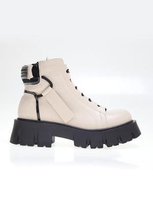 Ботинки бежевые | 5563746