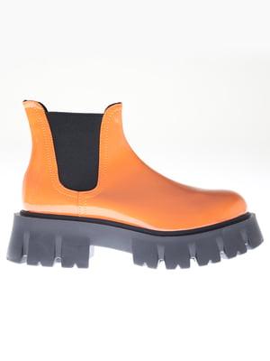 Ботинки оранжевые   5563750
