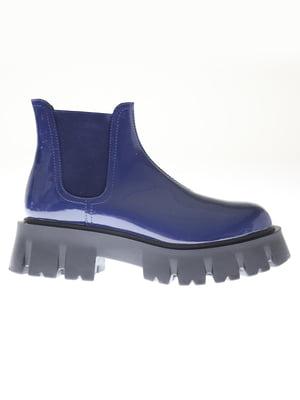 Ботинки синие   5563752