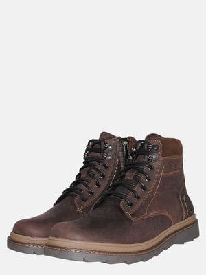 Черевики коричневі | 5553419