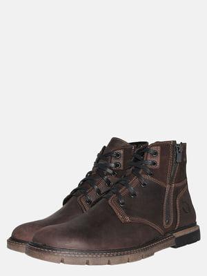 Черевики коричневі | 5553427