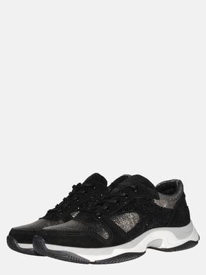 Кроссовки цвета черный хаки | 5561192