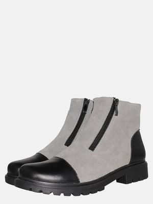 Ботинки черно-серые | 5561198