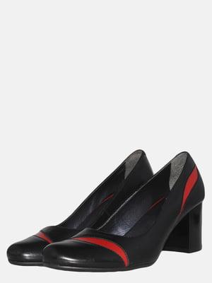 Туфли черно-красные | 5561289