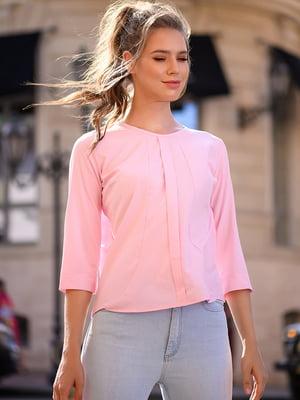 Блуза кольору пудри | 5564531
