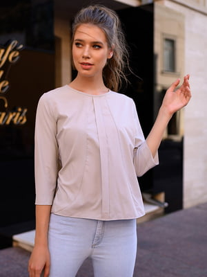 Блуза светло-серая | 5564532
