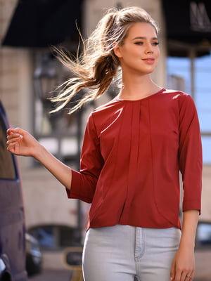 Блуза теракотова | 5564533