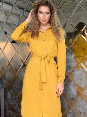 Сукня гірчичного кольору   5564647