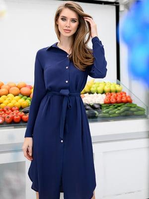 Сукня темно-синя | 5564649