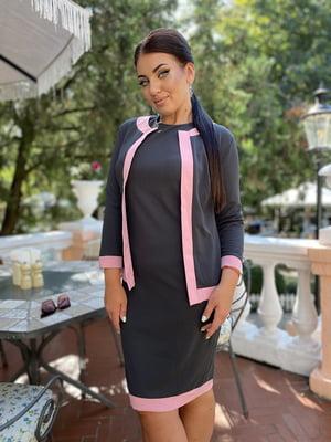 Костюм: платье и жакет | 5564915