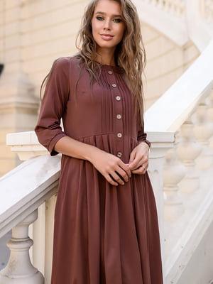Сукня кольору капучіно | 5564942