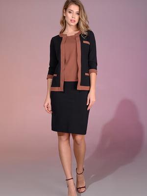Костюм: блуза, жакет и юбка | 5564976