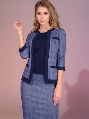 Костюм: блуза, жакет і спідниця | 5564978