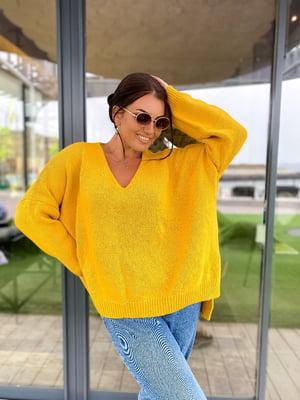 Пуловер гірчичний | 5565004