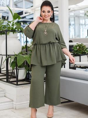 Костюм: блуза и кюлоты | 5564423
