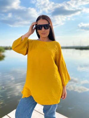 Блуза горчичного цвета | 5564473