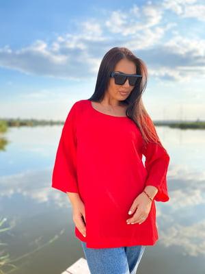 Блуза красная | 5564474