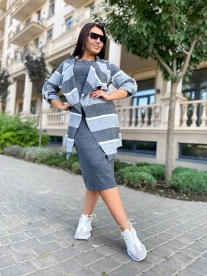 Комплект: платье и кардиган | 5564564