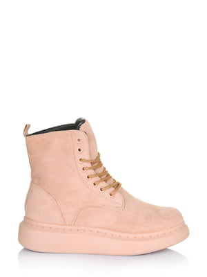 Ботинки розовые   5562864