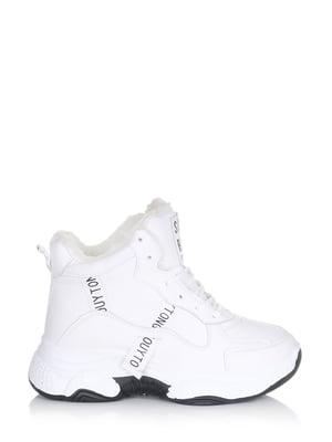Ботинки белые | 5562871