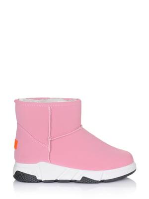 Ботинки розовые   5562875