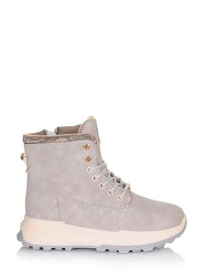 Ботинки серые | 5562877
