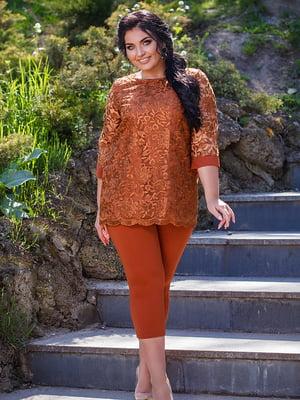 Комплект: блуза и леггинсы | 5564650